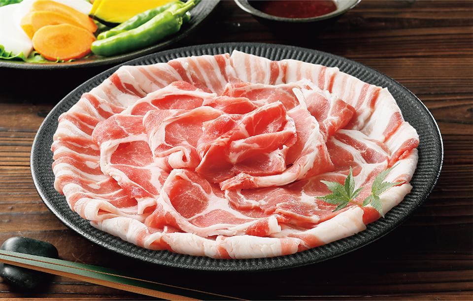 霧島黒豚皿盛り
